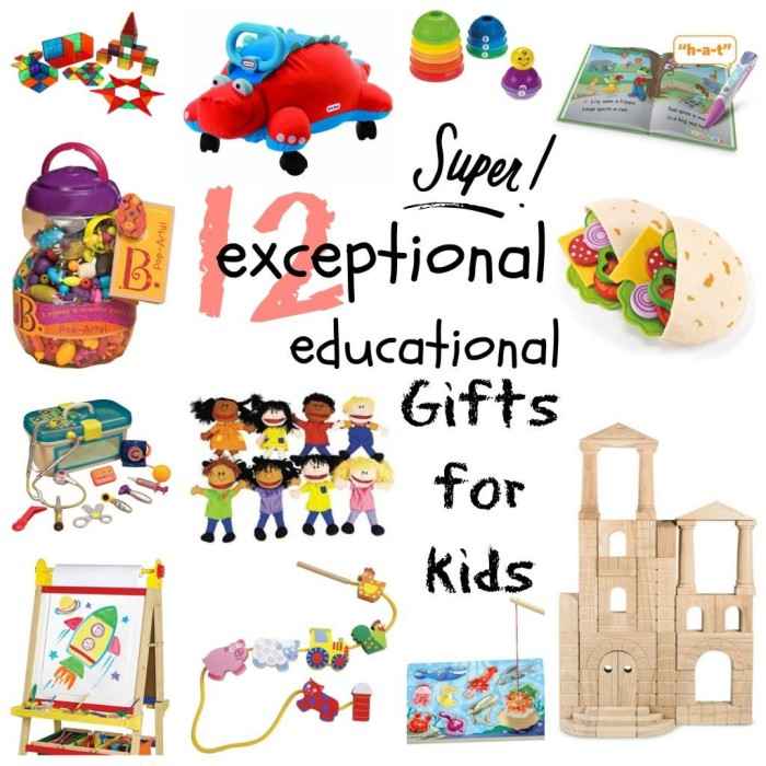education christmas presents for kids collage - Christmas Present Ideas For Kids