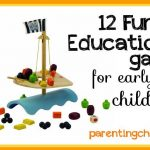 12 Fun Educational Games for Early Childhood