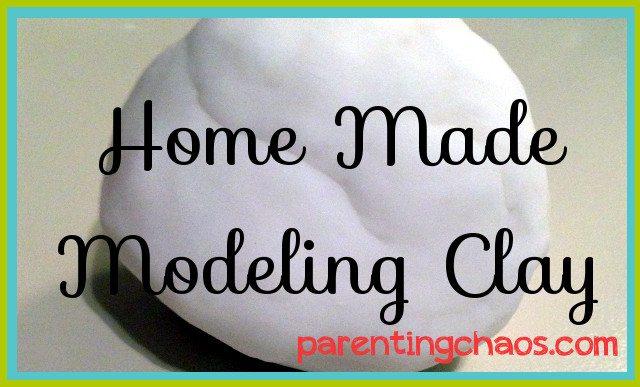 Homemade Model Clay