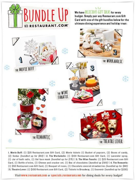 Restaurant.com Gift Guides