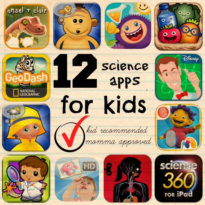 Science for Kids: Best iPad Apps