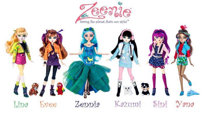 Zeenie Dollz Review: An Eco Friendly Best Friend!