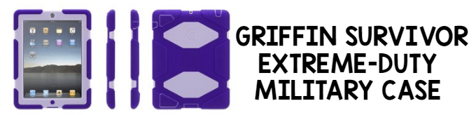 iPad Cases for Kids: GRIFFIN SURVIVOR EXTREME-DUTY MILITARY CASE
