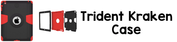 iPad Cases for Kids: Trident Kraken Case