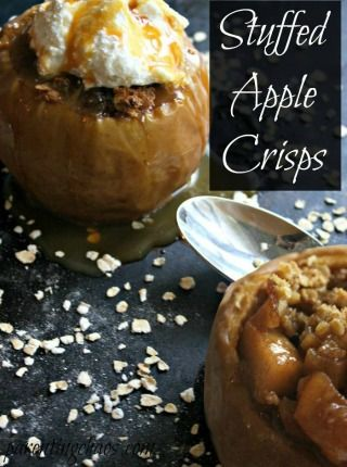 Stuffed Apple Crisps