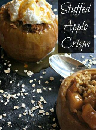 Stuffed Apple Crisps