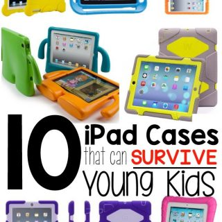 10 iPad Cases that can Survive Young Kids