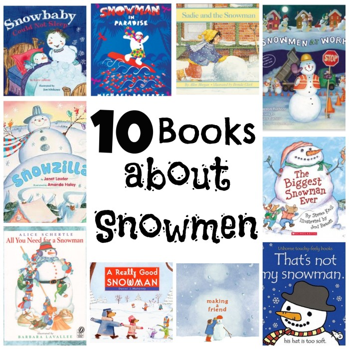 books about snowmen