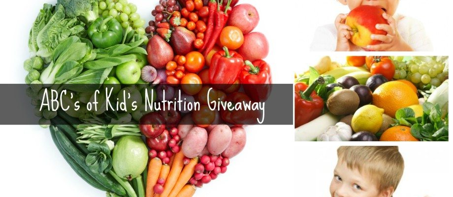 ABC's of Kid's Nutrition Giveaway