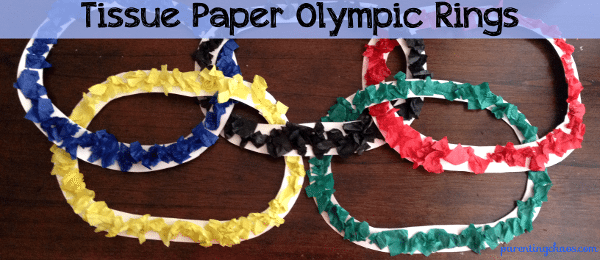 olympic rings craft