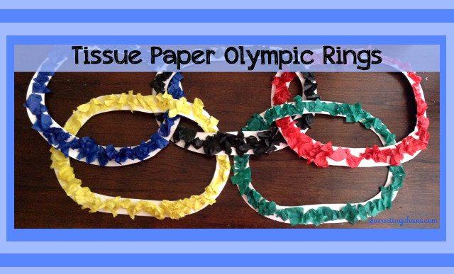 olympics ring craft