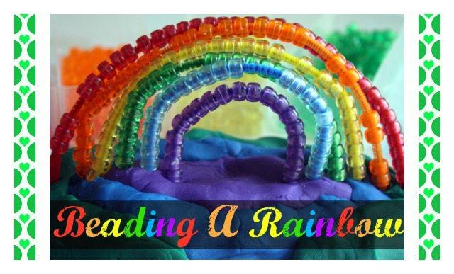 beading a rainbow