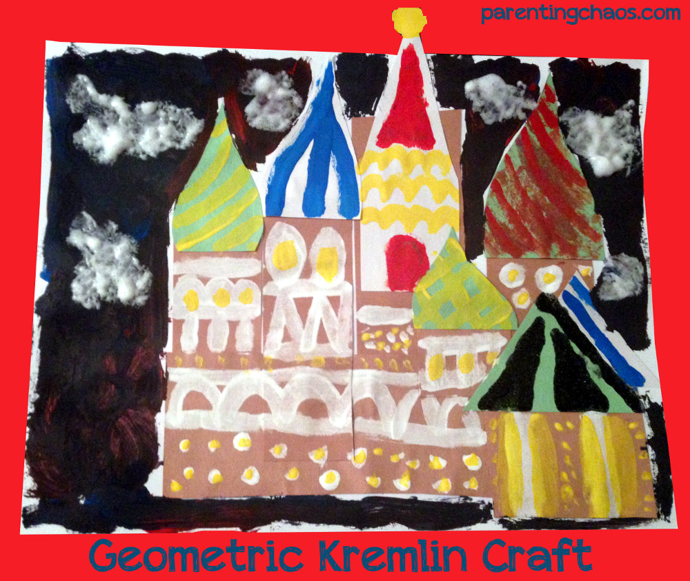 Russian Craft and Play Dough Mats