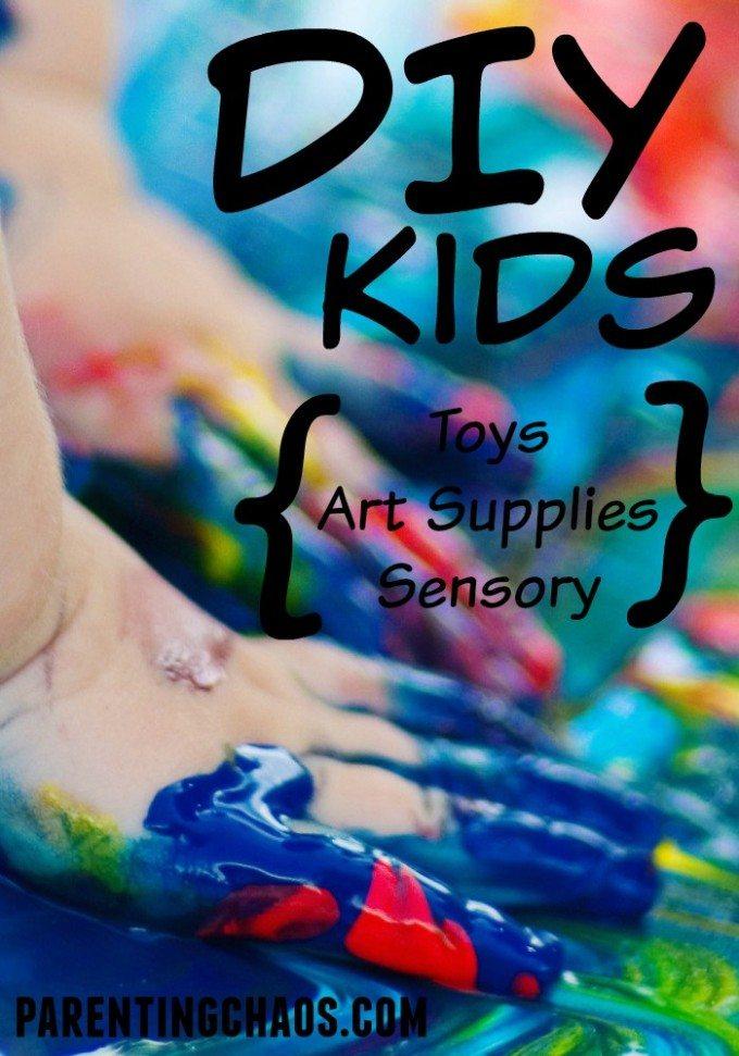 DIY Toys, Art Supplies, and Sensory Play Recipes