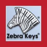 zebra keys