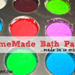 Homemade Bath Paints