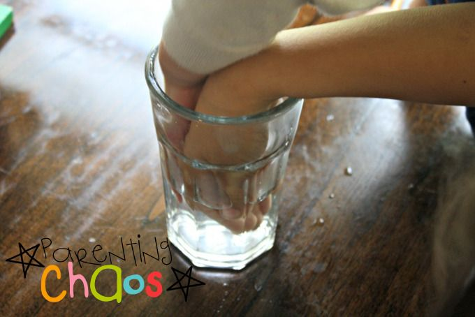 Cloud in a Cup exploring temperatures: Condensation Science Experiment for Preschool