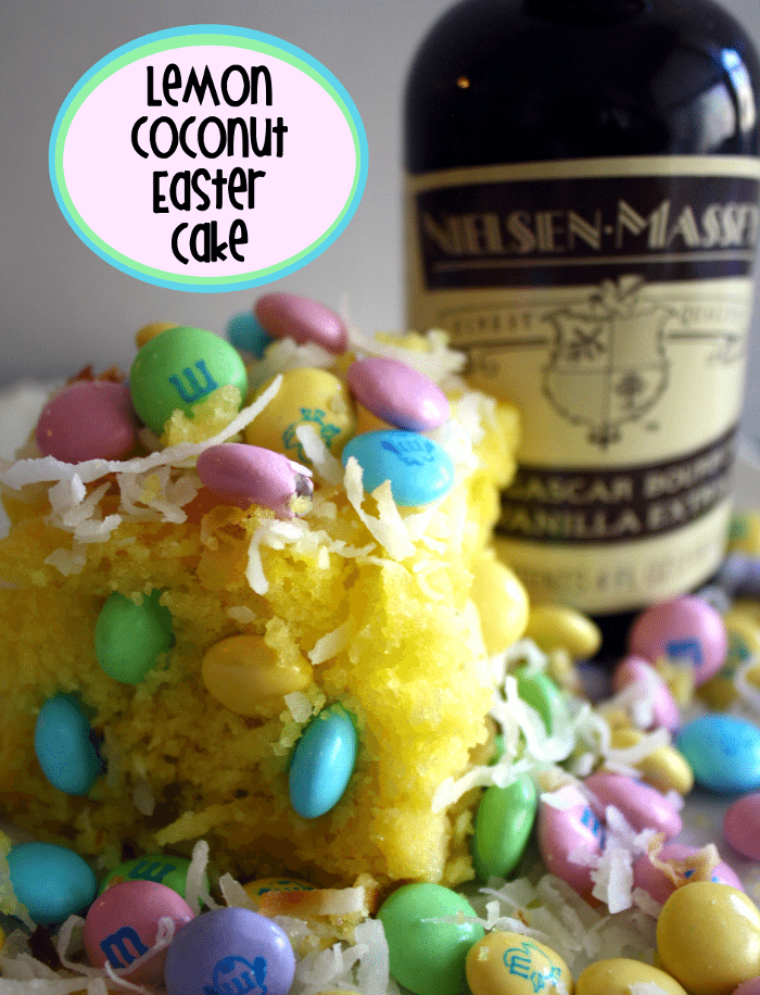 Lemon Coconut Easter Cake