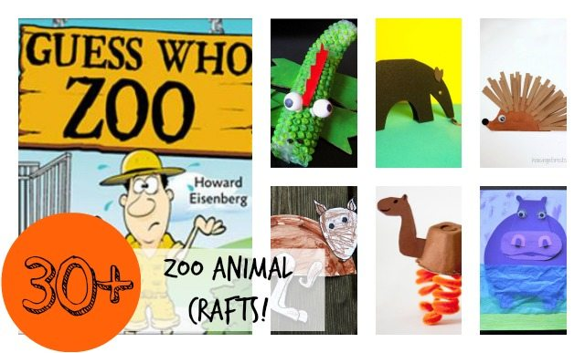 Guess Who Zoo And 30 Zoo Animal Crafts