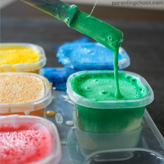 Easy to Make Homemade Bath Paints