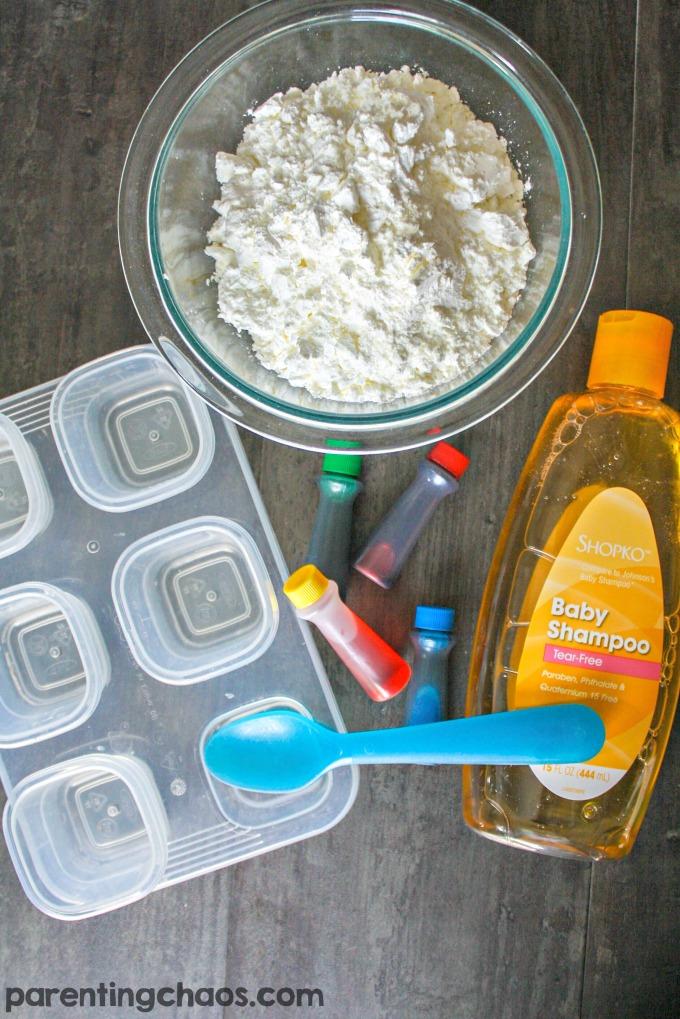 Easy to Make Homemade Bath Paints
