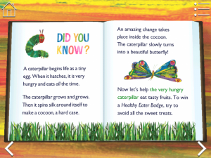 The Very Hungry Caterpillar app