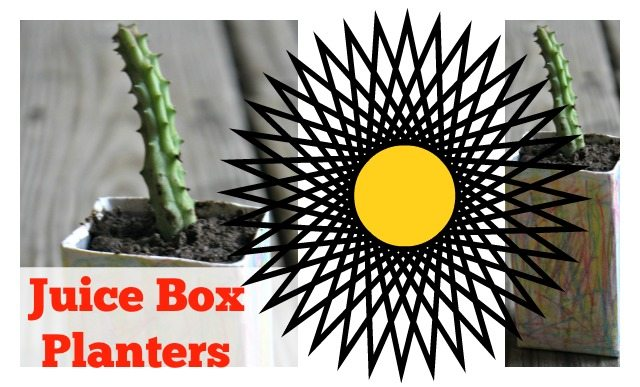 Juice Box Planters: Gardening with Kids