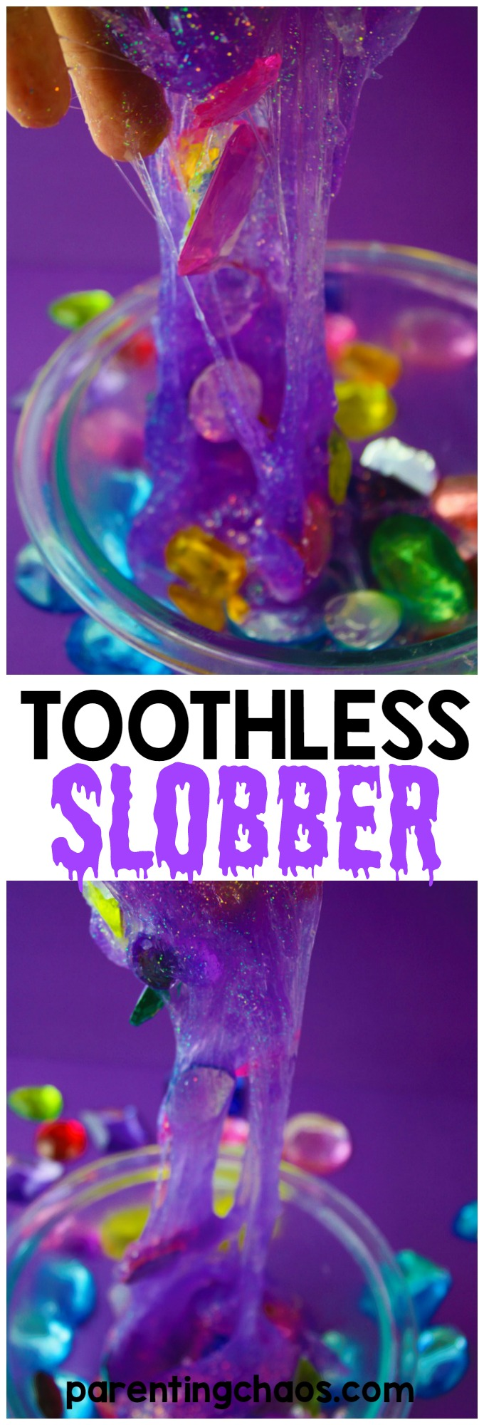 My kids are LOVING this How to Train Your Dragon Slime...or as they call it Toothless Kisses!