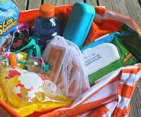 summer pool bag essentials