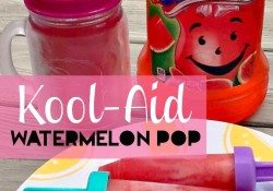 Fruit Juice Kool-Aid Pops