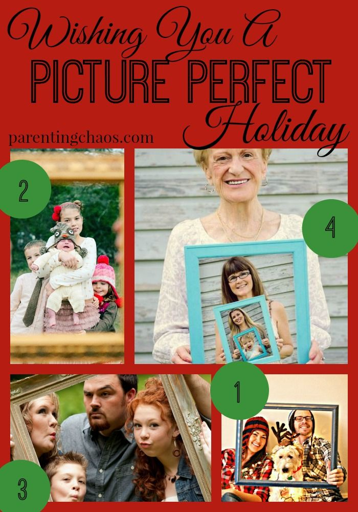Picture Perfect Christmas Card Theme