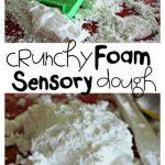 Crunchy Foam Sensory Dough
