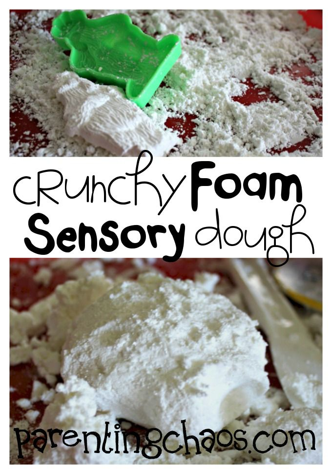 Crunchy Foam Sensory Dough: A Unique Play With Me NOW Dough that will keep your kids entertained for hours