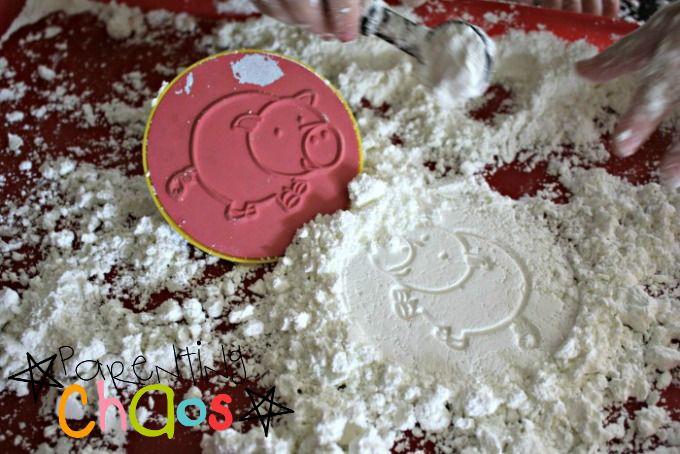 Stamping Crunchy Foam Sensory Dough