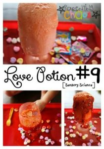 Love Potion #9 Sensory Science Experiment