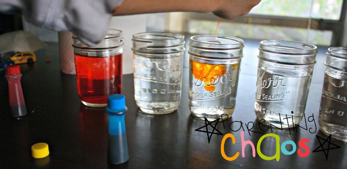 Crawling Colors! Color Mixing Science Experiment Adding in Yellow