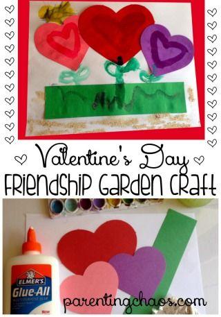 Valentine's Day Friendship Craft: Growing a Garden of Love