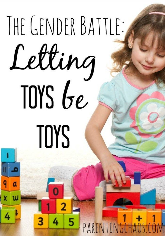 The Gender Battle: Letting Toys be Toys