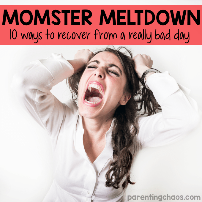 How to Recover from a Mommy Meltdown