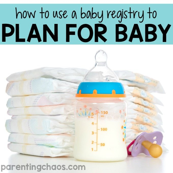 How to Use a Baby Registry to Plan for Baby