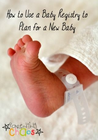 How to Use a Baby Registry to Plan for a New Baby