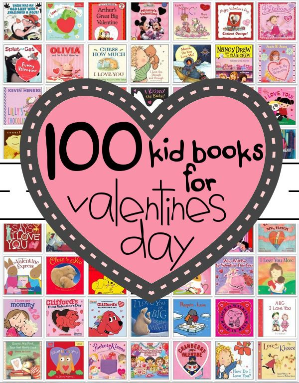 100 valentines day books for kids