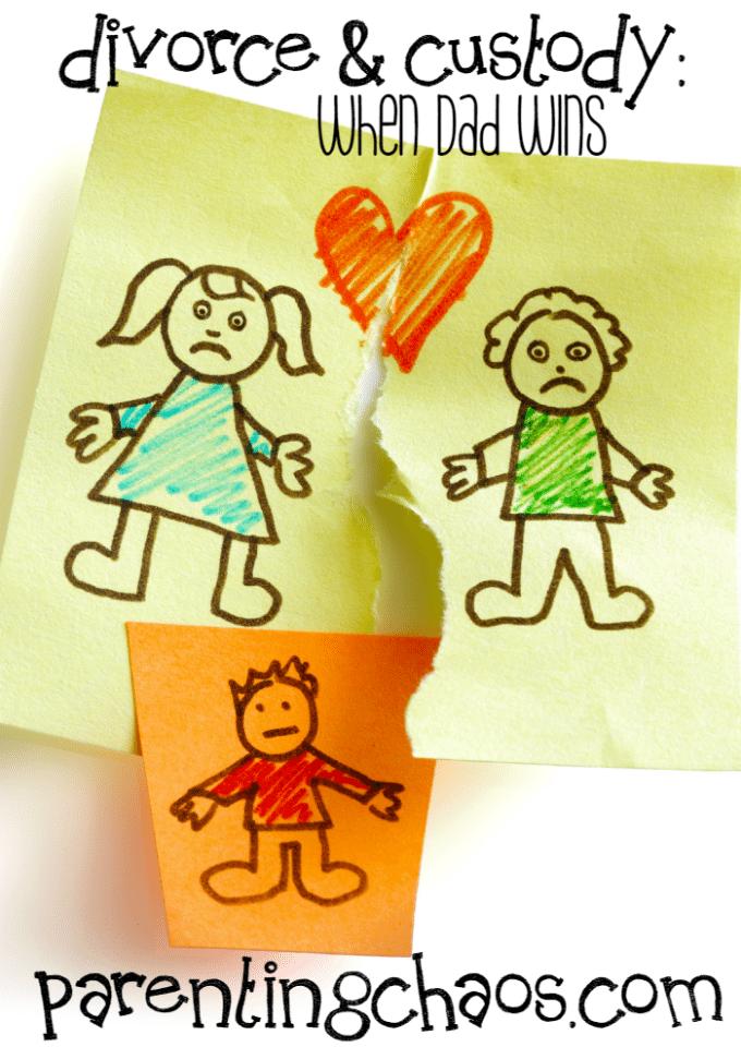 Divorce and Custody: When Dad Wins