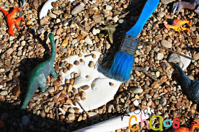 Dino Dig Pretend Play: Exploring Fossils, Shapes, and the Alphabet!