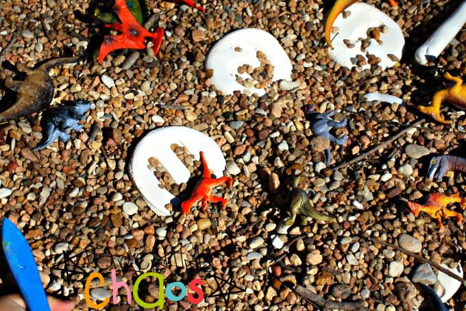 Dino Dig Alphabet Fossils: Exploring Fossils, Shapes, and the Alphabet!