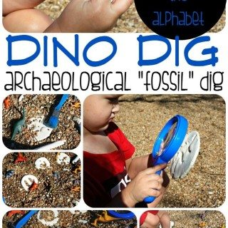 Dino Dig: Exploring Fossils, Shapes, and the Alphabet!