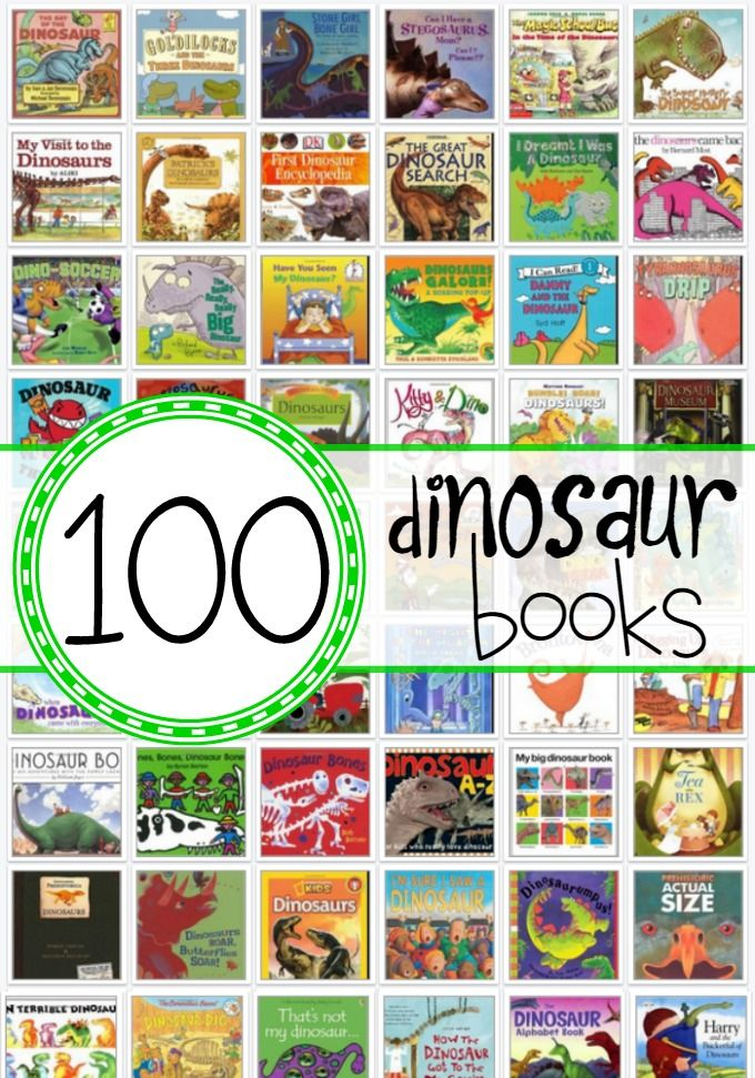 100 Dinosaur Books for Kids!