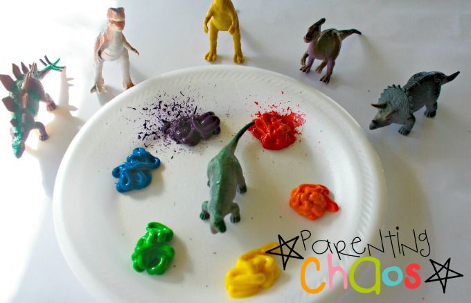Items Needed for Dinosaur Stomp Painting