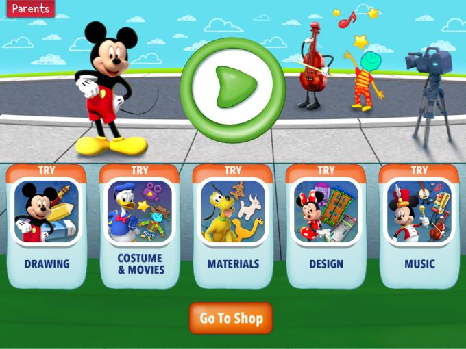 Imagicademy Mickey's Magical Art World