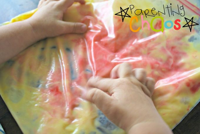 Exploring Textures of Homemade Rainbow Vanilla Pudding